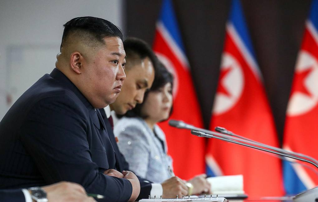 North Korean leader Kim Jong-un Valery Sharifulin/TASS
