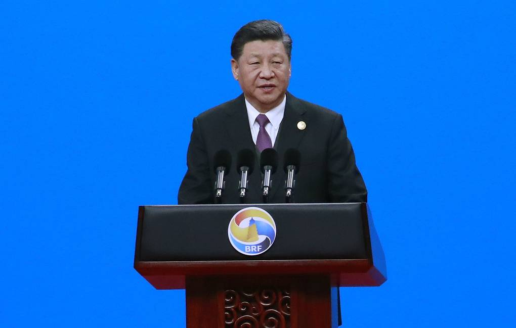 Chinese President Xi Jinping EPA-EFE/HOW HWEE YOUNG/POOL