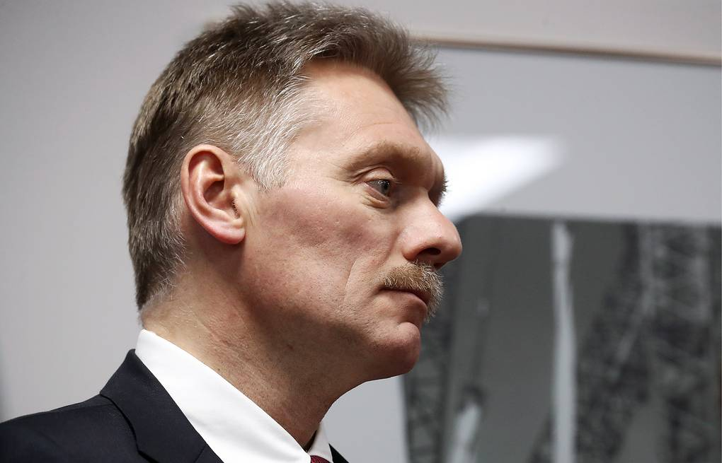 Russian presidential spokesman Dmitry Peskov Valery Sharifulin/TASS