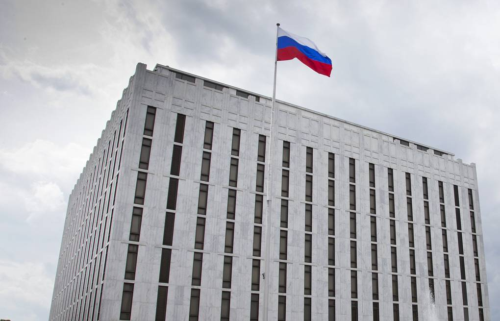 Russian embassy in Washington AP Photo/J. Scott Applewhite