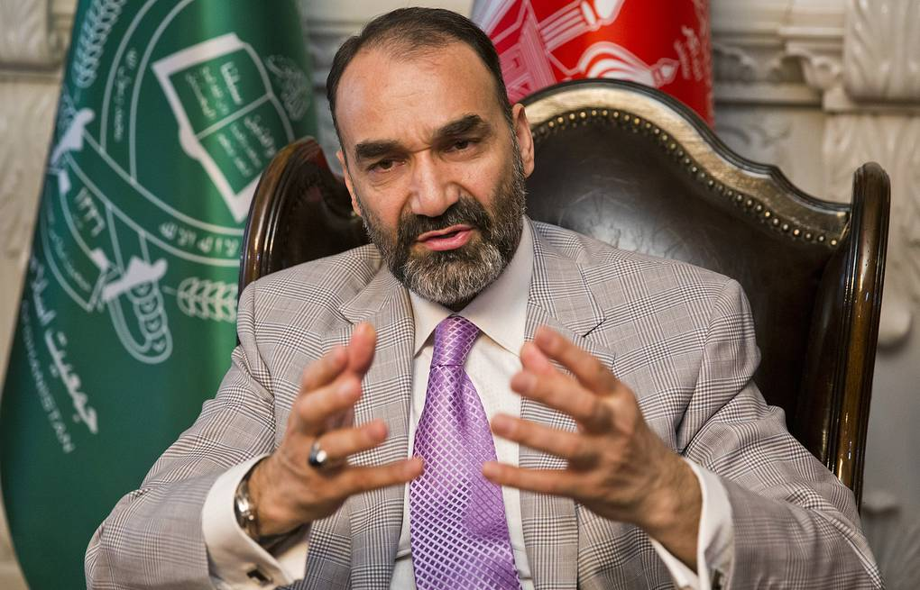 Former Governor of Afghanistan's Balkh Province Atta Mohammad Noor AP Photo/Massoud Hossaini