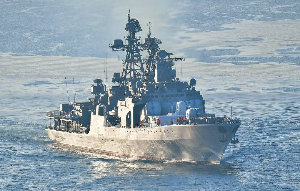The Admiral Panteleyev large anti-submarine ship Yuri Smityuk/TASS