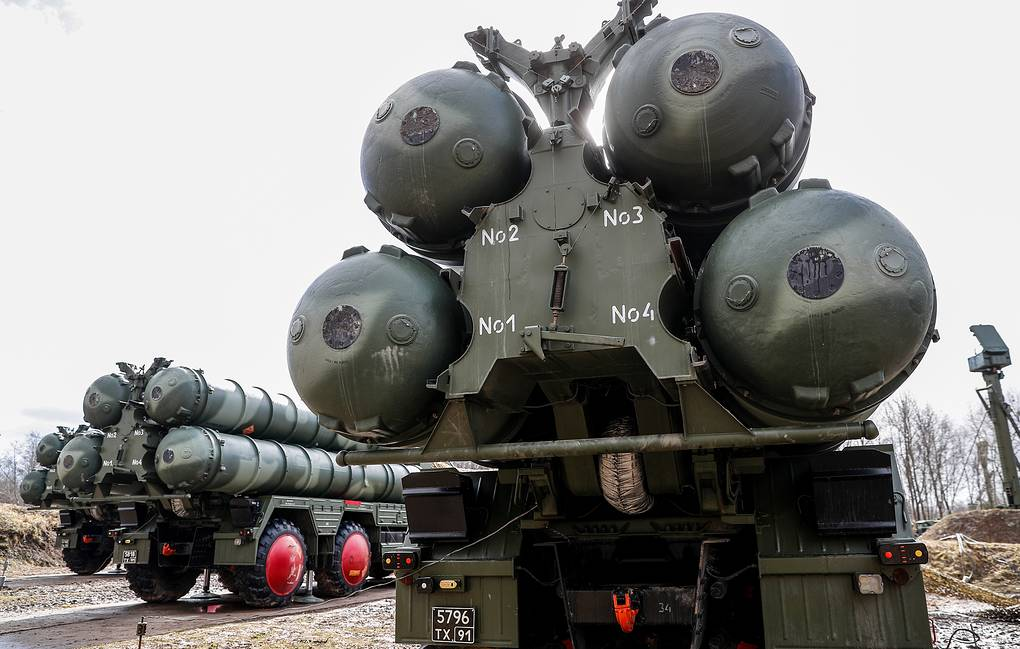 S-400 missile defense systems Vitaly Nevar/TASS