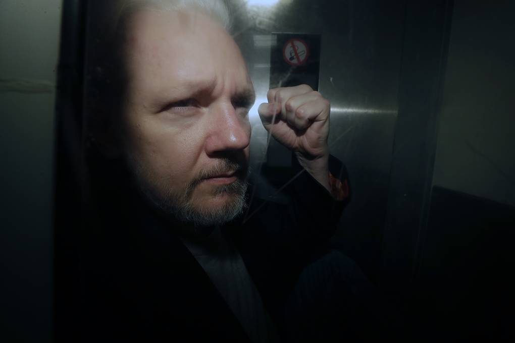 Julian Assange AP Photo/Matt Dunham