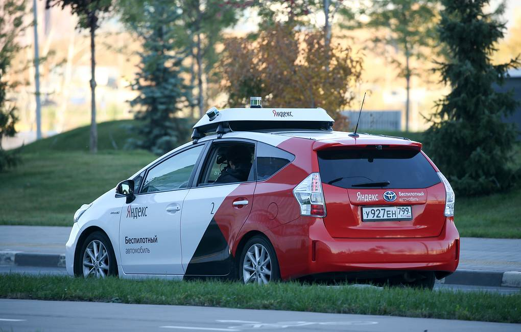 Yandex begins to test self-driving cars on Moscow roads