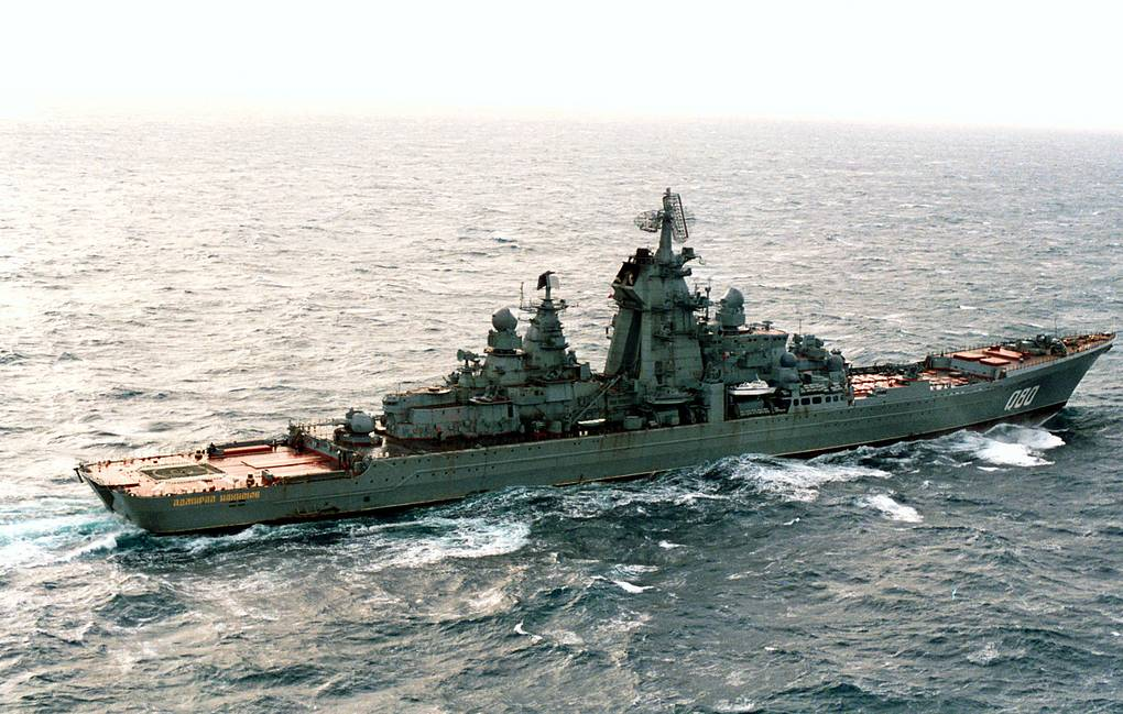 Admiral Nakhimov nuclear-powered missile-carrying cruiser  Semen Maysterman/TASS