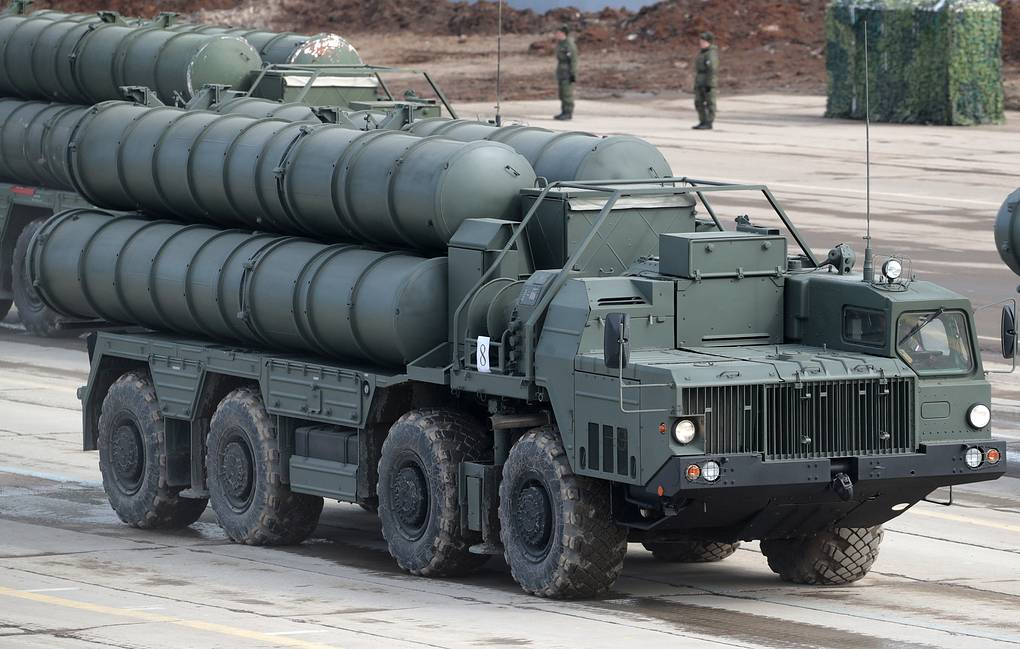 S-400 missile systems Sergei Bobylev/TASS