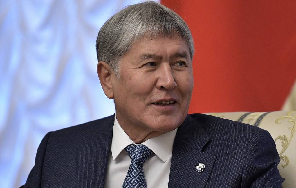 Former president of Kyrgyzstan Almazbek Atambayev Alexei Nikolsky/Russian Presidential Press and Information Office/TASS