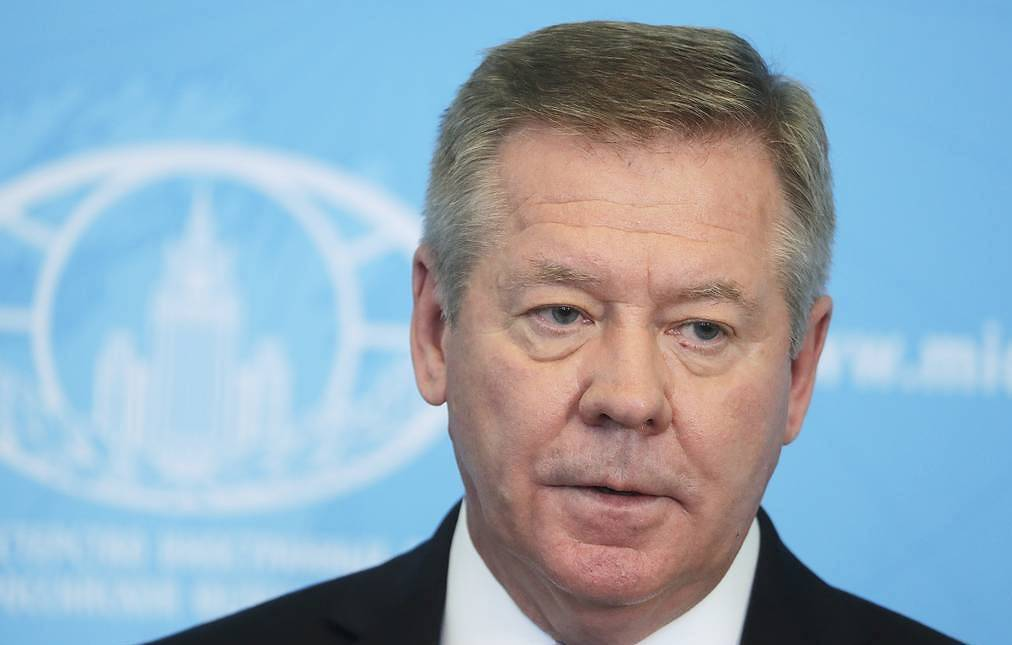 Russian Permanent Representative to the UN Office and other international organizations in Geneva Gennady Gatilov Mikhail Metzel/TASS