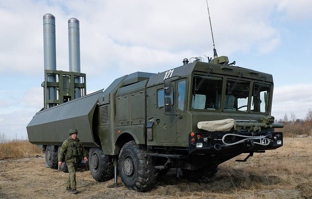 Bastion mobile coastal defense missile system Vitaliy Nevar/TASS