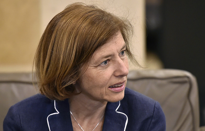 French Defense Minister Florence Parly EPA-EFE/WAEL HAMZEH
