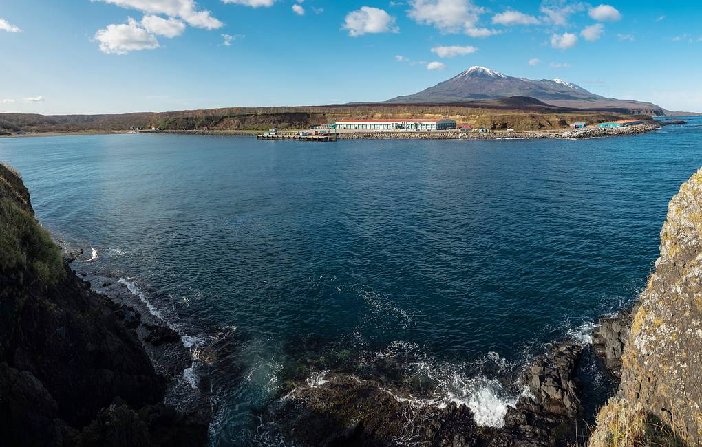 A view of Iturup island, one of the southern Kuril Islands  Sergei Krasnoukhov/TASS