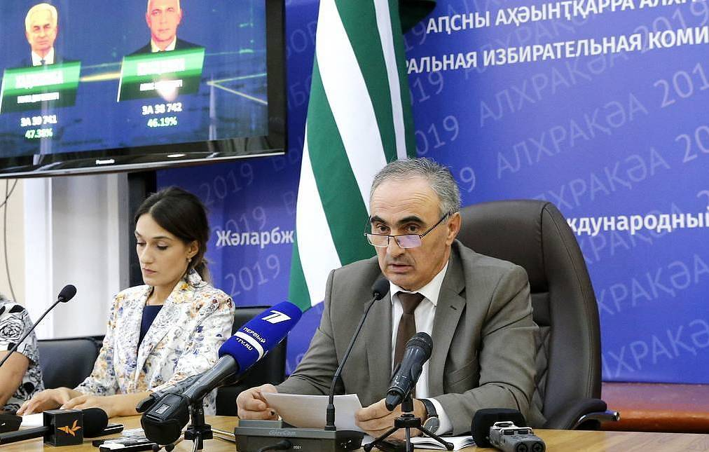 Head of Abkhazia's Central Election Commission (CEC) Tamaz Gogia Valery Matytsyn/TASS