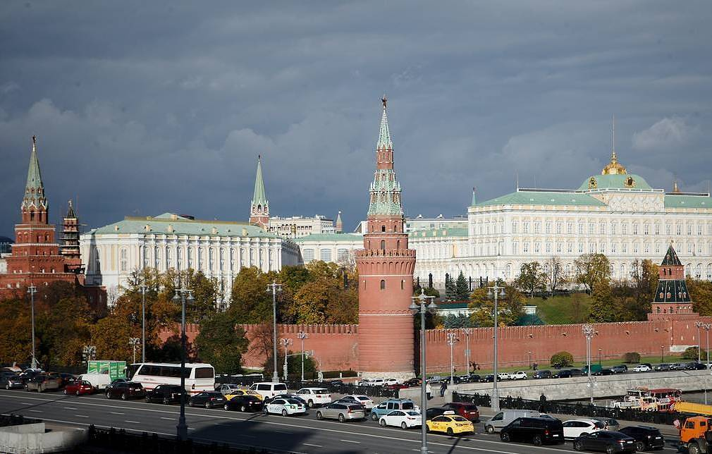 View of the Moscow Kremlin  Roman Kanashchuk/TASS