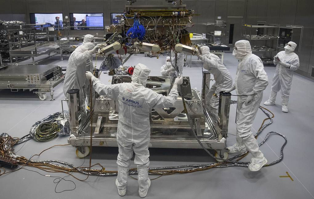 European Space Agency's ExoMars rover  Aaron Chown/PA via AP