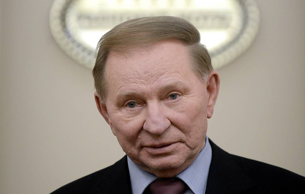 Envoy to the Contact Group for the settlement in Eastern Ukraine Leonid Kuchma Viktor Drachev/TASS