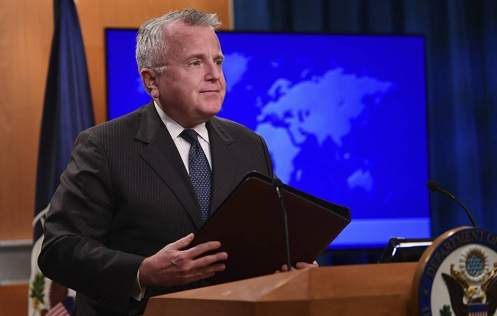 US Deputy Secretary of State John Sullivan AP Photo/Susan Walsh