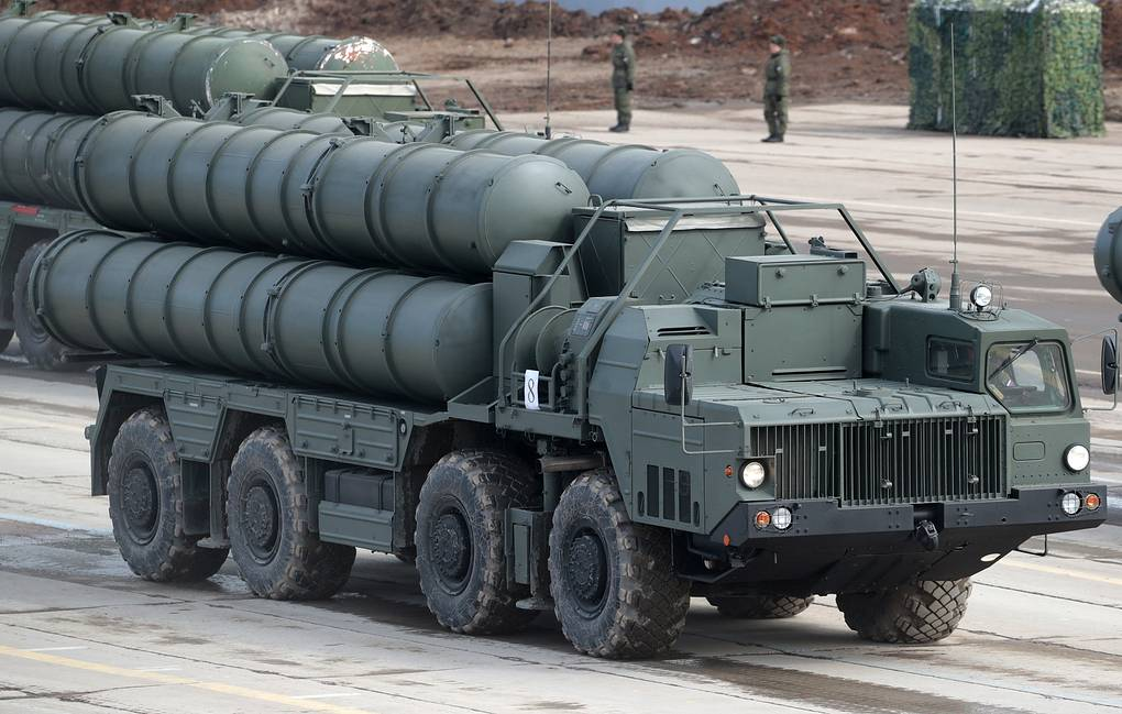 S-400 air defense missile systems Sergei Bobylev/TASS