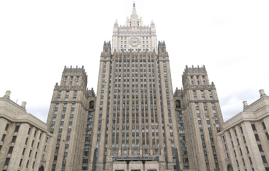 The Russian foreign ministry Anton Novoderzhkin/TASS
