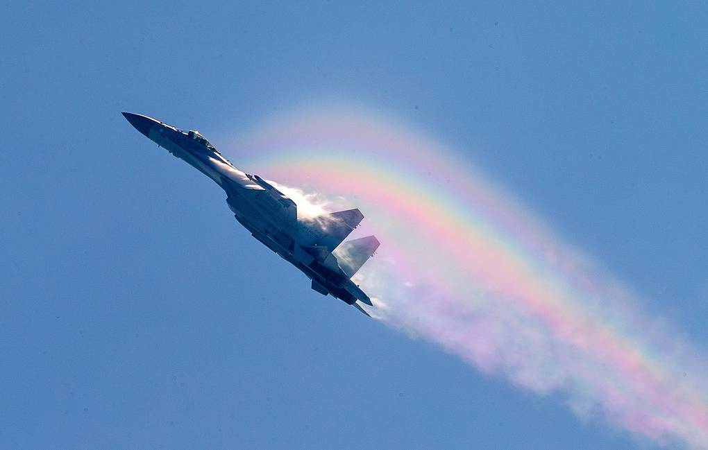 Su-35 fighter Marina Lystseva/TASS