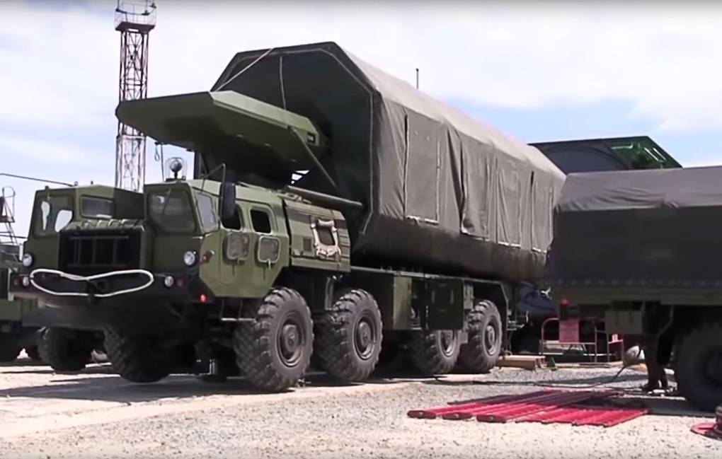 Avangard missile system Russian Defense Ministry's press service/TASS