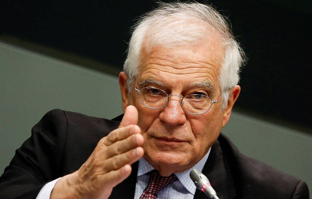High Representative of the Union for Foreign Affairs and Security Policy Josep Borrell EPA-EFE/David Fernandez
