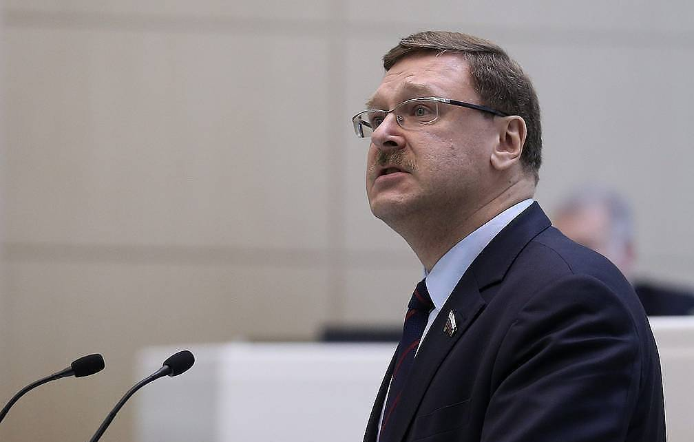 Chairman of the Federation Council's international affairs committee Konstantin Kosachev Valery Sharifulin/TASS