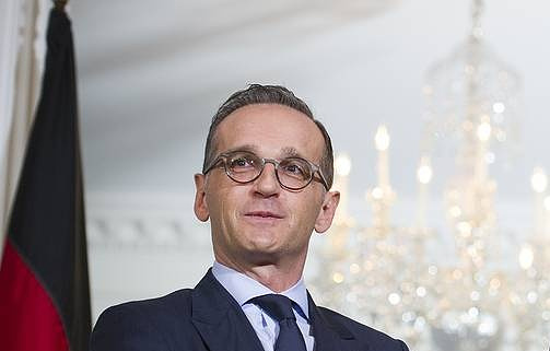 German Foreign Minister Heiko Maas AP Photo/Cliff Owen