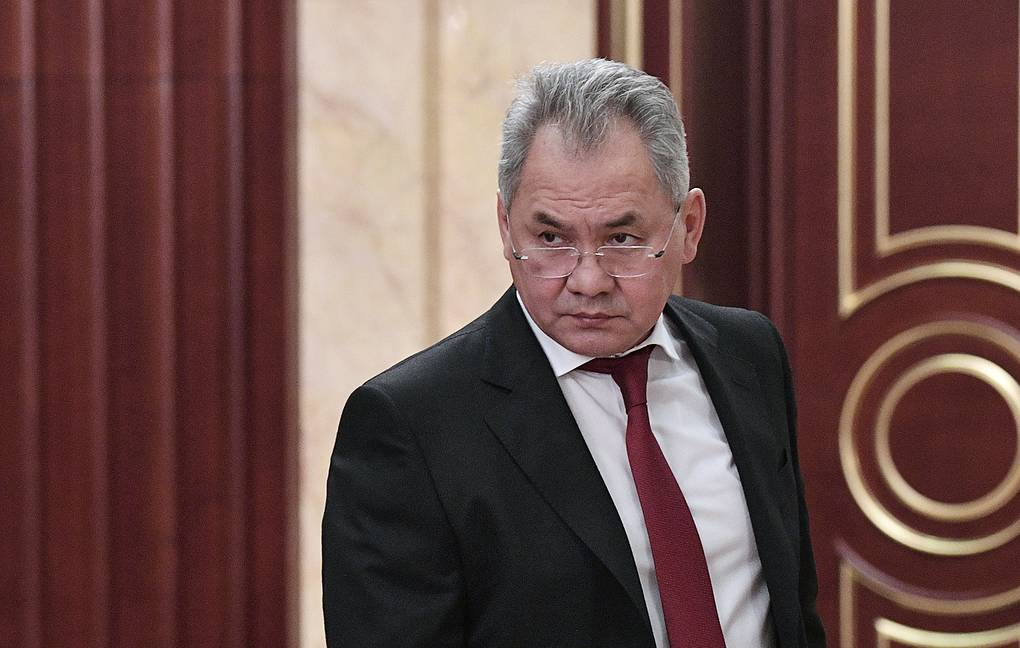 Russian Defense Minister Army General Sergei Shoigu Alexei Nikolsky/Russian Presidential Press and Information Office/TASS