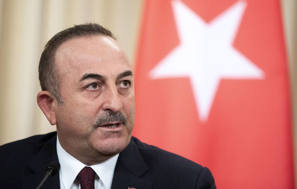Turkish Foreign Minister Mevlut Cavusoglu AP Photo/Pavel Golovkin, Pool