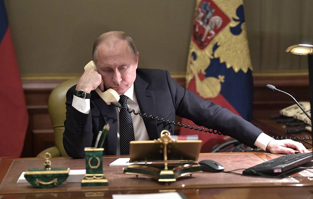 Russian President Vladimir Putin Alexei Nikolsky/Russian Presidential Press and Information Office/TASS