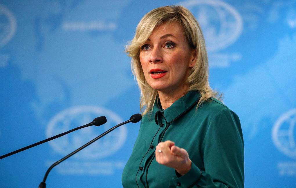 Russian Foreign Ministry's official spokeswoman Maria Zakharova Sergei Bobylev/TASS