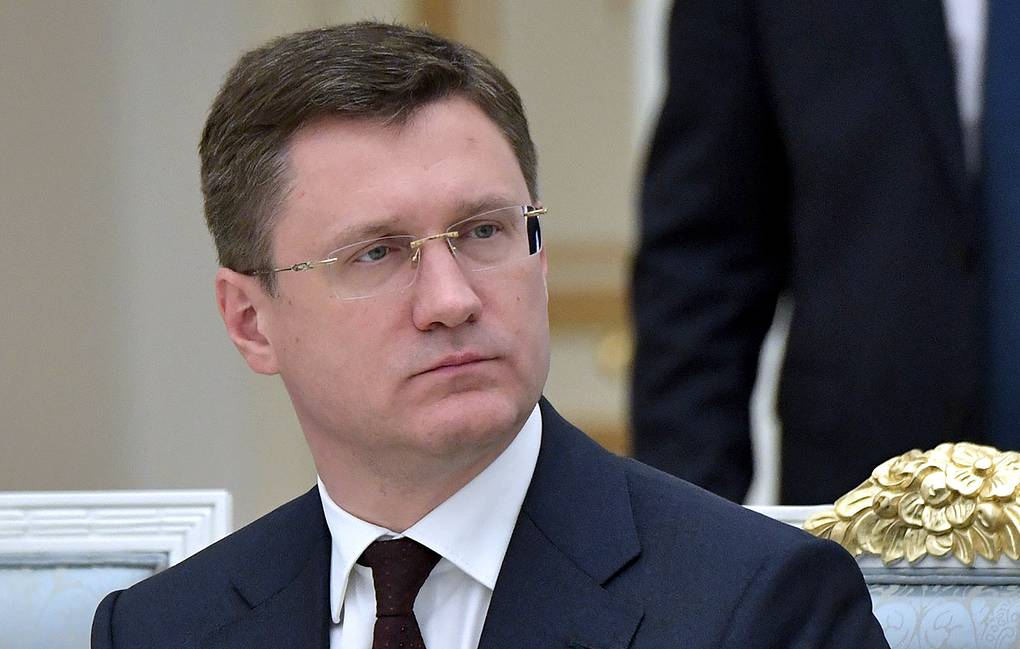 Russia's Energy Minister Alexander Novak Alexei Nikolsky/Russian Presidential Press and Information Office/TASS