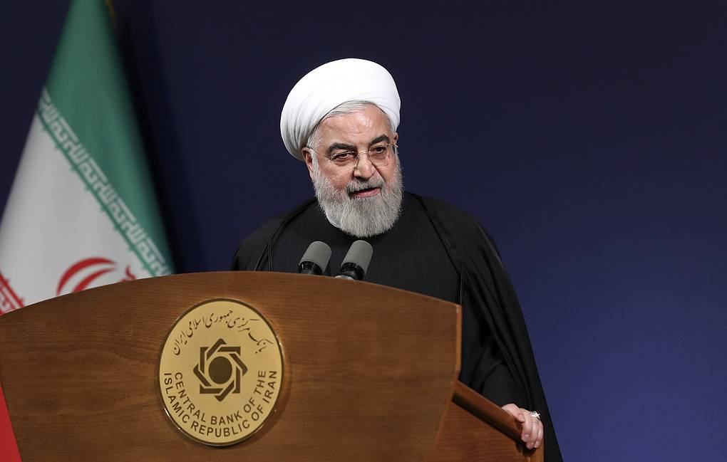 Iranian President Hassan Rouhani  Office of the Iranian Presidency via AP