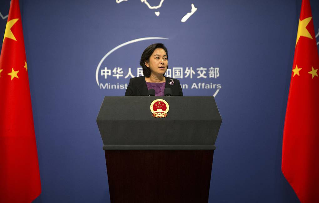 Chinese Foreign Ministry Spokeswoman Hua Chunying  AP Photo/Mark Schiefelbein