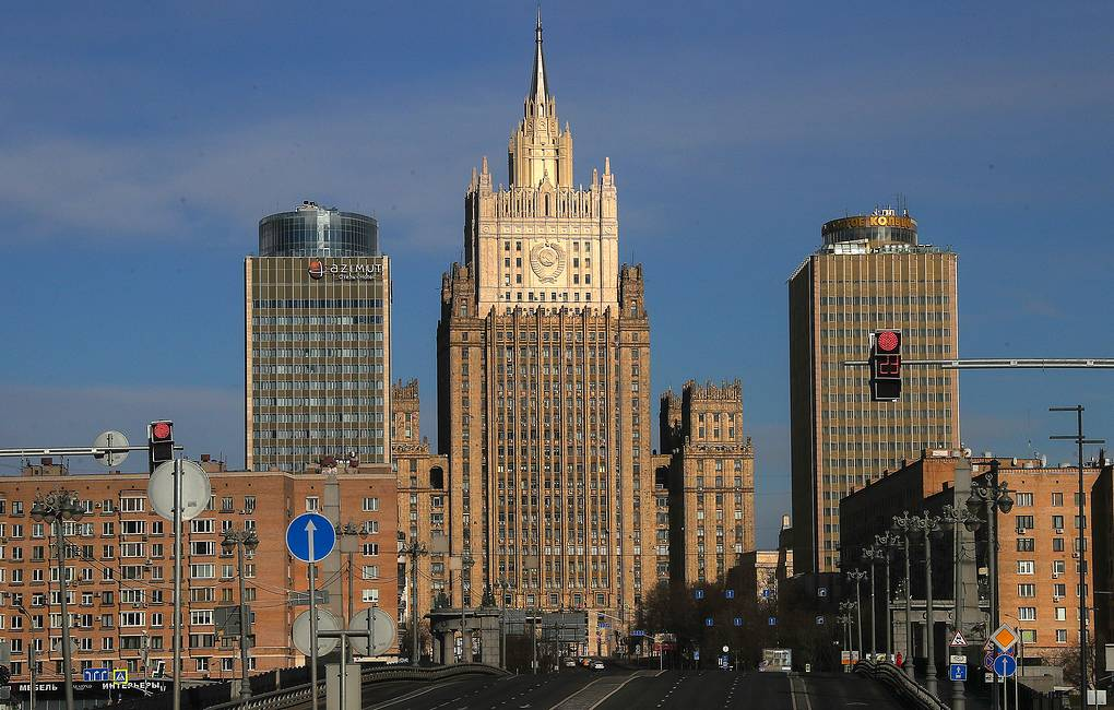 A view of the headquarters of Russia's Foreign Ministry Valery Sharifulin/TASS