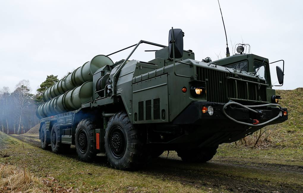 S-400 surface-to-air missile system Vitaly Nevar/TASS