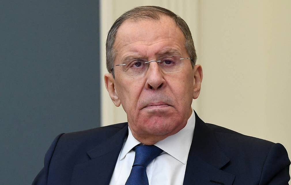 Russian Foreign Minister Sergey Lavrov Alexei Nikolsky/Russian presidential press service/TASS