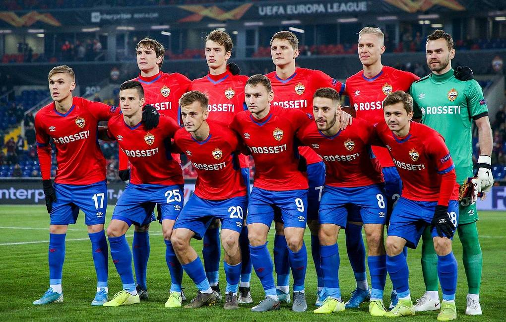 Entire team of CSKA Moscow football club tests negative for COVID-19 -  Sport - TASS