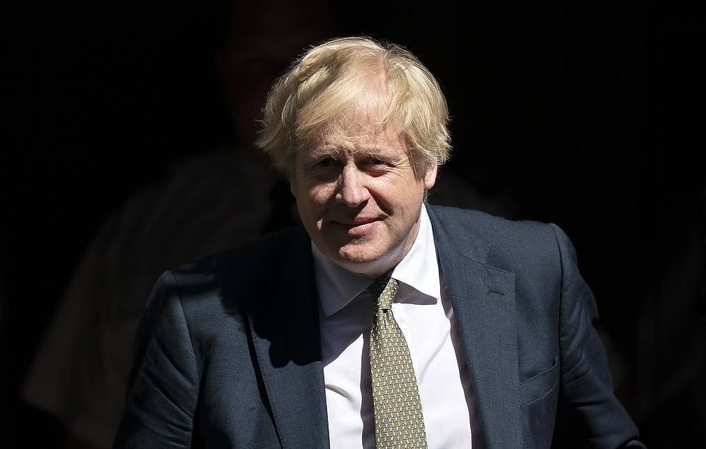 UK Prime Minister Boris Johnson EPA-EFE/WILL OLIVER