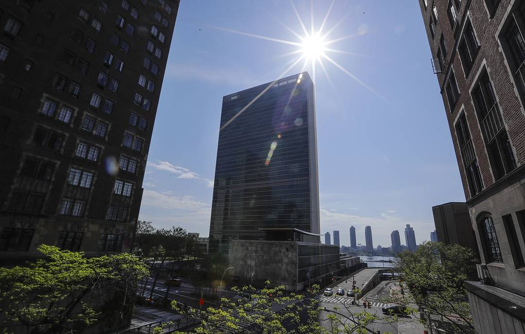 United Nations headquarters in New York AP Photo/Frank Franklin II