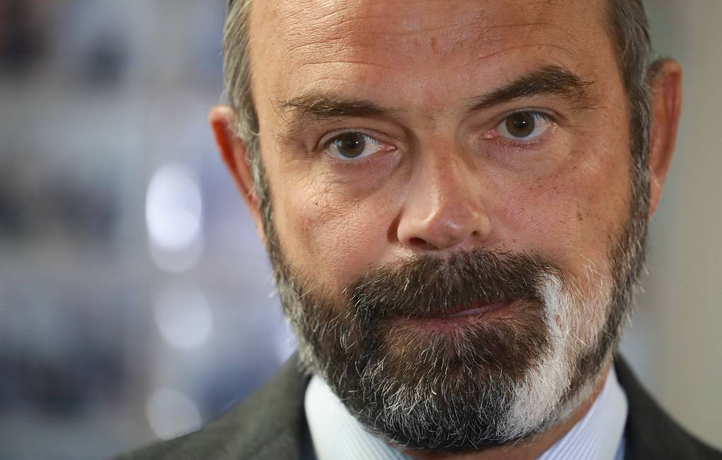 French Prime Minister Edouard Philippe Ludovic Marin/POOL via AP