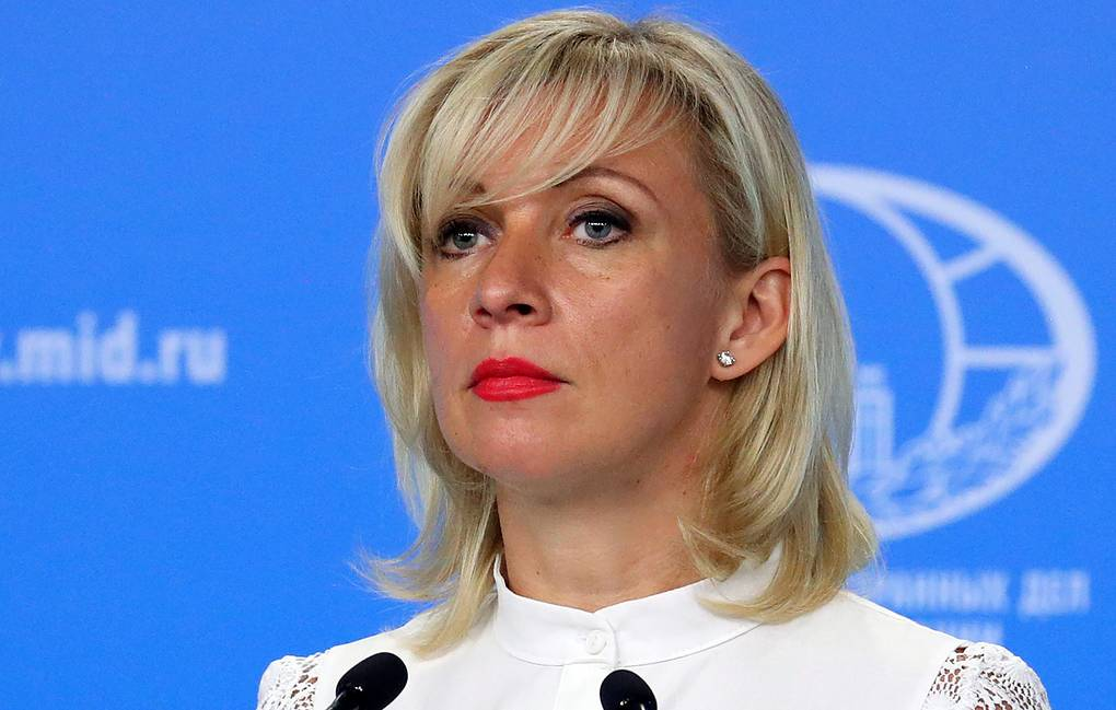 Russian Foreign Ministry Spokesperson Maria Zakharova Russian Foreign Ministry Press Office/TASS
