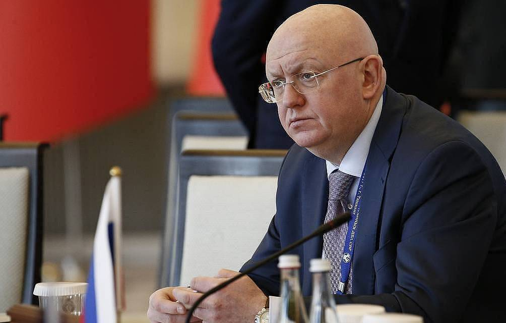 Russian Permanent Representative to the UN Vasily Nebenzya Alexandr Sherbak/TASS