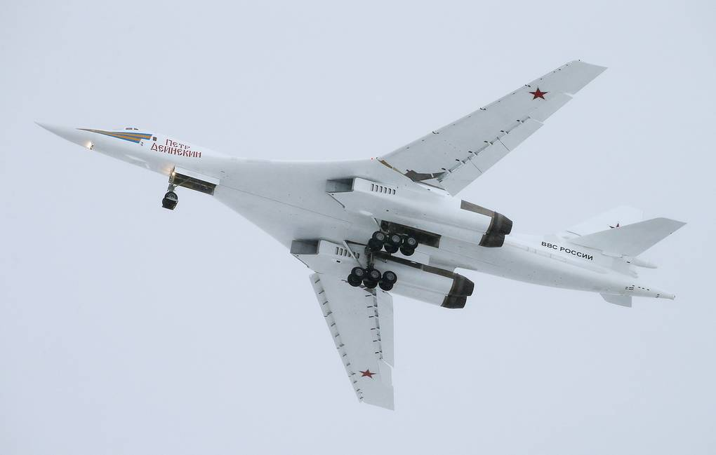 Tu-160 strategic missile-carrying bomber Marina Lystseva/TASS
