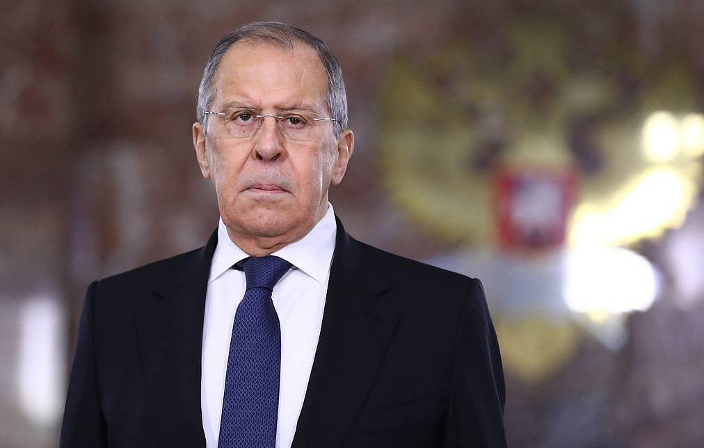 Russian Foreign Minister Sergey Lavrov Russian Foreign Ministry's press service/TASS