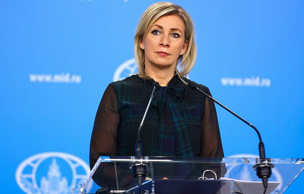 Russian Foreign Ministry Spokeswoman Maria Zakharova Russian Ministry of Foreign Affairs/TASS