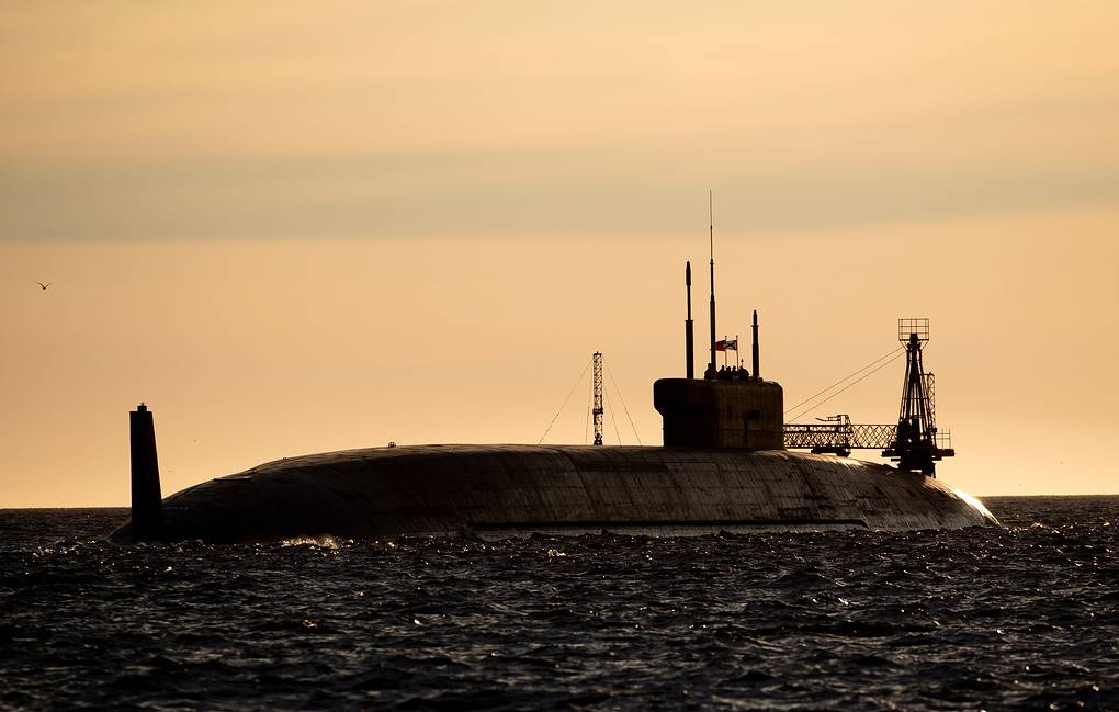 Project 955A nuclear-powered submarine Sergei Bobylev/TASS