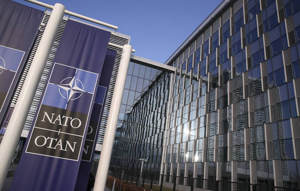NATO's headquarters EPA-EFE/Yves Herman/POOL