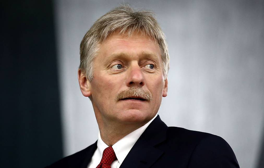 Russian presidential spokesman Dmitry Peskov Valery Sharufulin/TASS